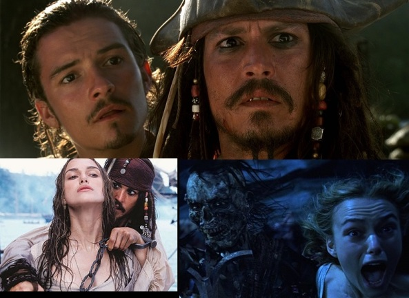 3 Pirates of the Caribbean